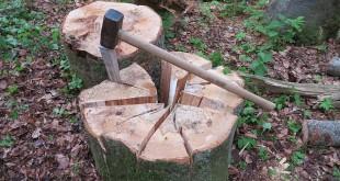 Elektro Holzspalter